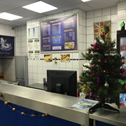 fish chip shop with - 2